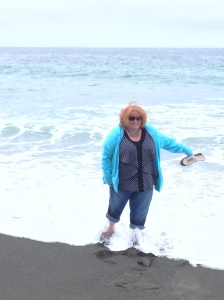 Julie- July 2015 Living Fully Pacific Ocean